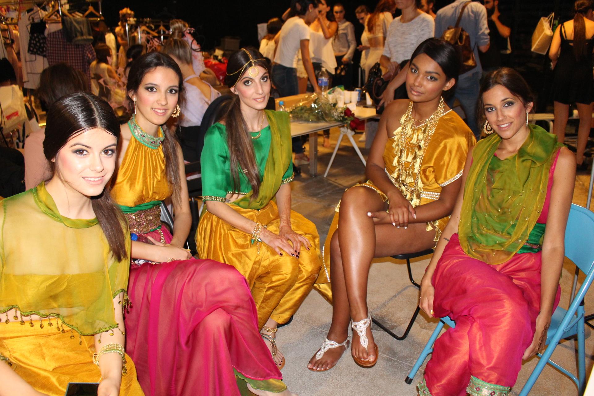 5.Bellezas representando el exotismo de India