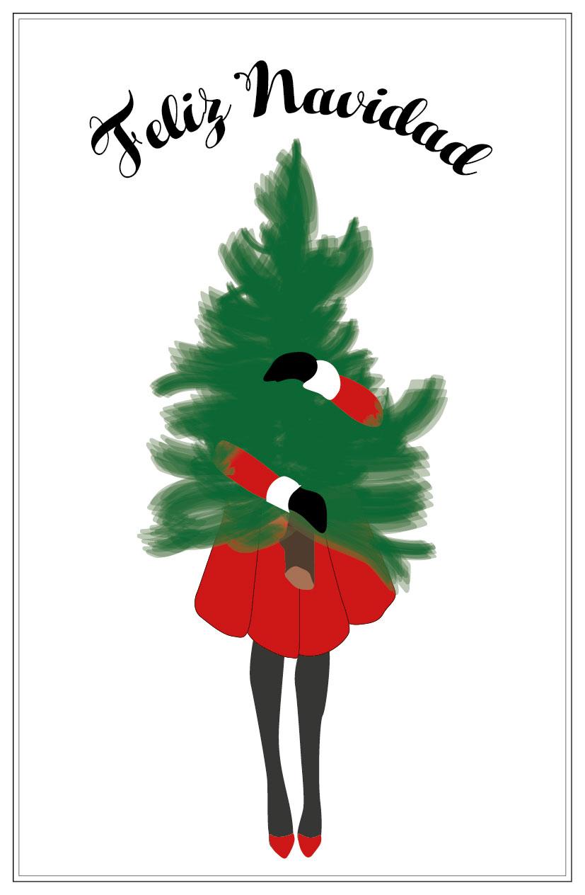 Luna Julián felecitacion navidad