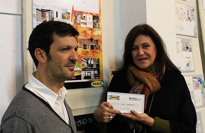 Cristela Gras Ganadora premio Ikea