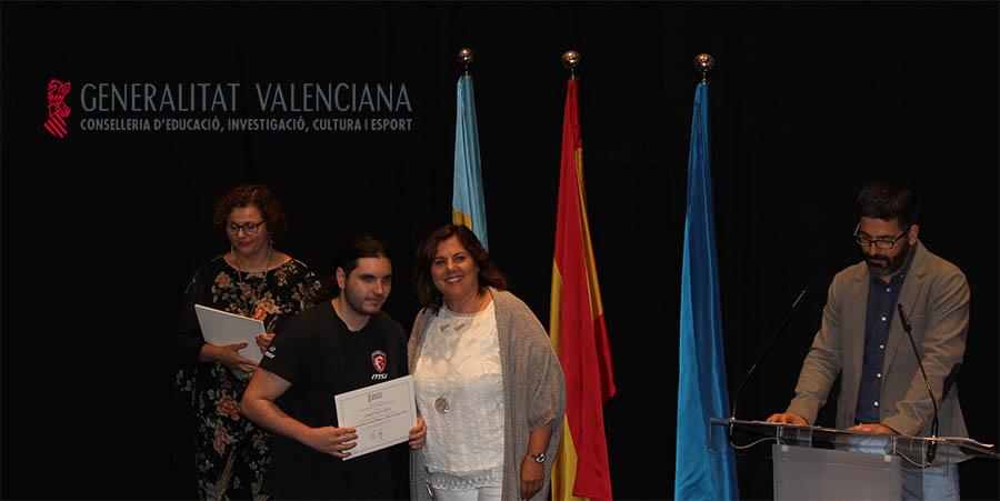 Entrega de premio extraordinario Generalitat