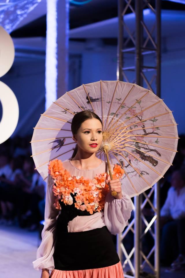 Sakura - Verónica Jiménez - Pasarela Barreira Orientalismos