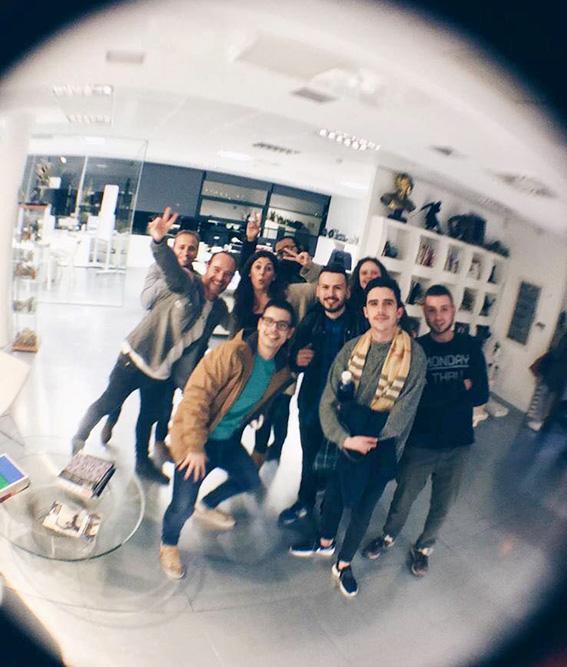 Visita de estudiantes Barreira a Pixel&Pixel_