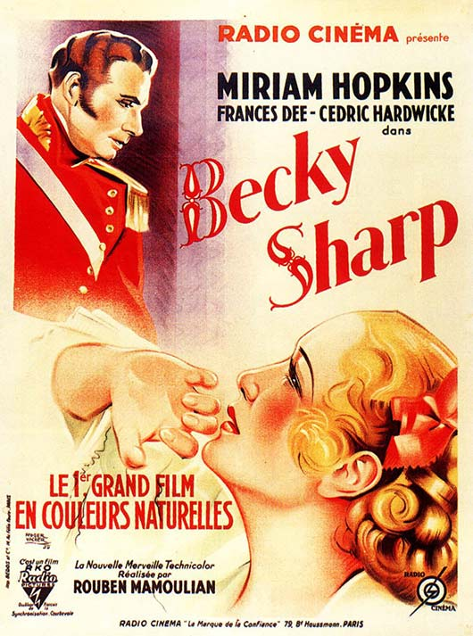 Cartel Becky Sharp