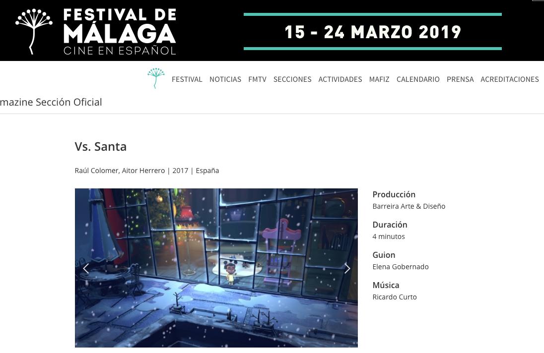 VS Santa Festival Málaga