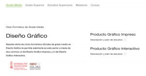 estudios nueva web