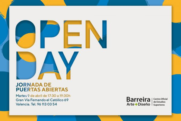 open day 9 abril