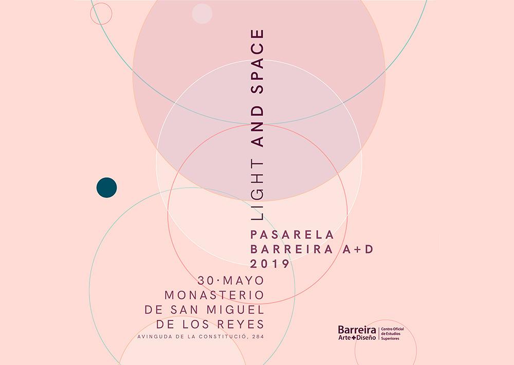 light and space pasarela barreira
